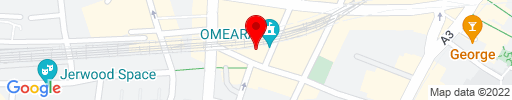 Map of Menier Chocolate Factory Restaurant