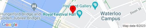 Map of Riverside Terrace Cafe