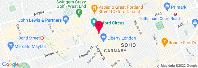 Map for London Palladium
