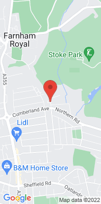 Map showing the location of the Slough - Hatton Avenue LP3 monitoring site