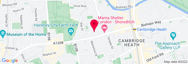Map for Sebright Arms