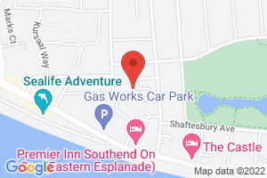 Map of Collier Way, Southend-on-Sea