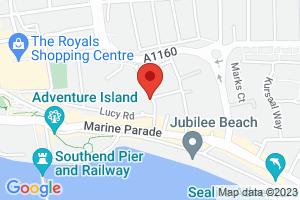 Map of Hartington Road, Southend-on-Sea