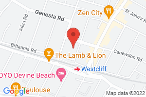 Map of Ditton Court Road, Westcliff-on-Sea