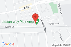 Map of Dalmatia Road, Essex, SS1
