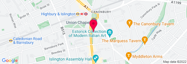 Map for Union Chapel