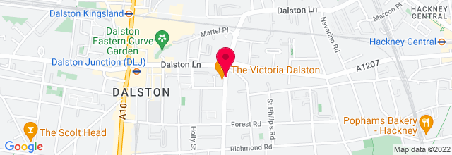 Map for The Victoria Pub