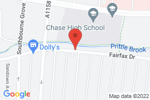 Map of Fairfax Drive, Westcliff-on-Sea