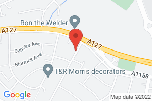 Map of Dulverton Avenue, Westcliff-on-Sea