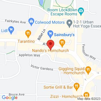Argos Hornchurch Location on map