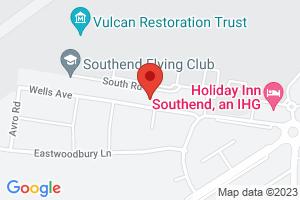 Map of Wells Avenue, Southend-on-Sea