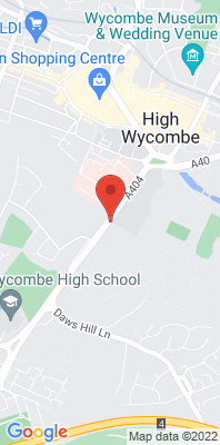 Map showing the location of the Wycombe Abbey 4 [Closed] monitoring site