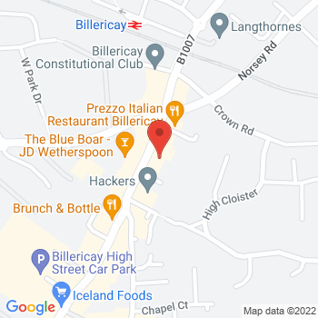 Argos Billericay Location on map
