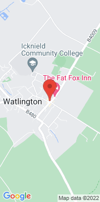 Map showing the location of the Watlington monitoring site