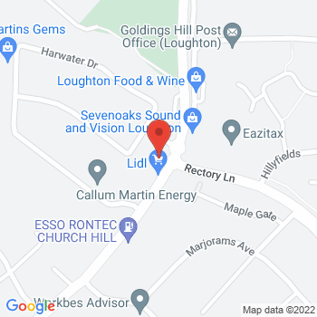 Homebase Loughton Location on map