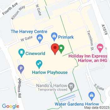 Argos Harlow Location on map