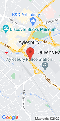 Map showing the location of the Aylesbury Walton Street 2 [Closed] monitoring site