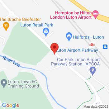 B&Q Mini Warehouse Luton  Location on map