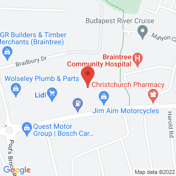 Ernest Doe (Braintree) Location on map