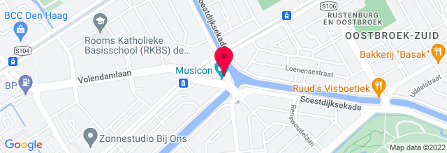 Map for Musicon