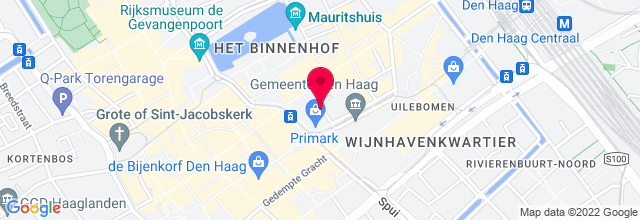 Map for De Vinger