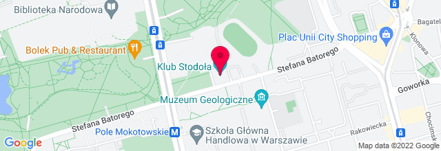 Map for Klub Stodoła