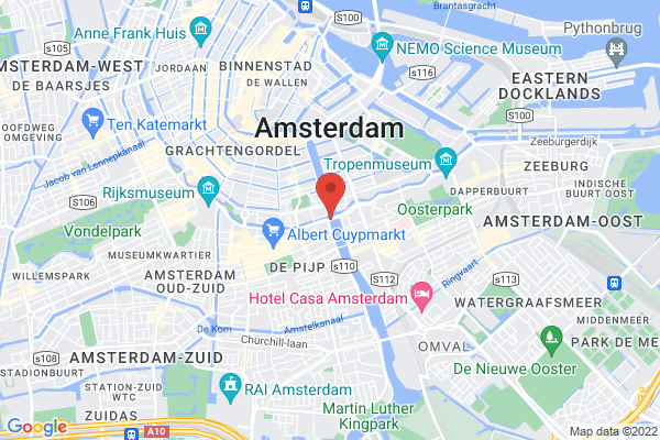 located in the centre of Amsterdam