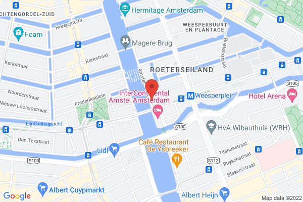 Everything in Amsterdam is close by