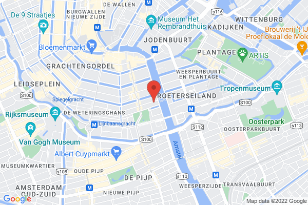 Central Amsterdam location