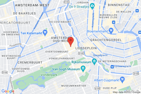 Close to Leidseplein, the Canals and the Museums