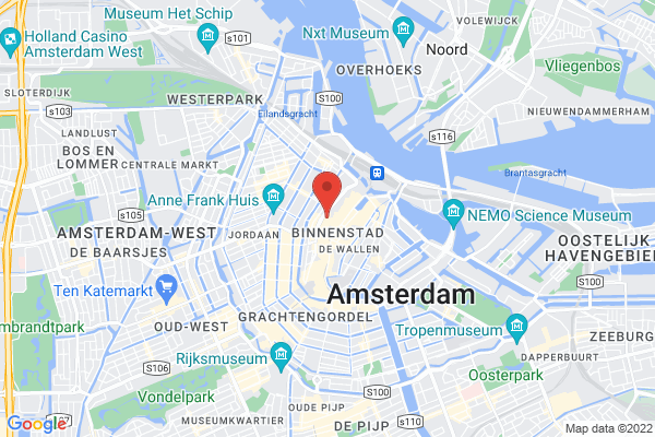Amsterdam centre location
