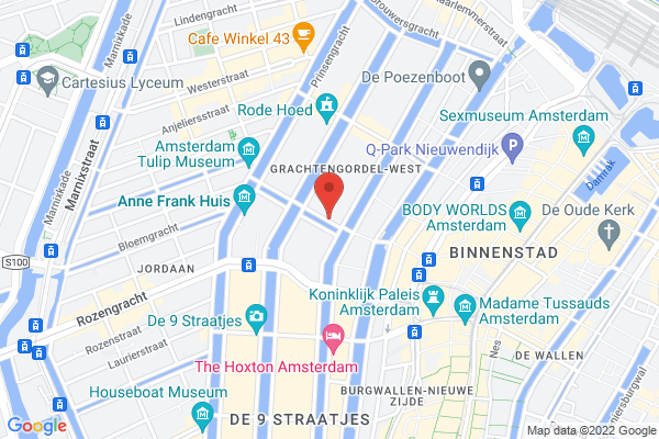 Central location in Amsterdam