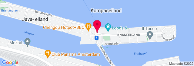 Map for Music Matrix Amsterdam