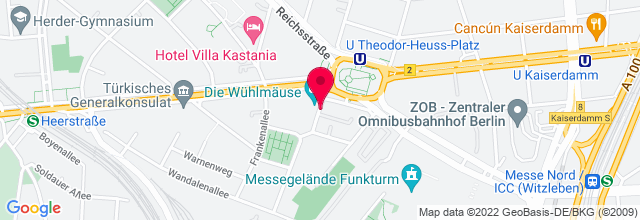 Map for Die Wühlmäuse Am Theo