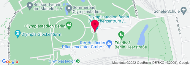 Map for Olympiastadion