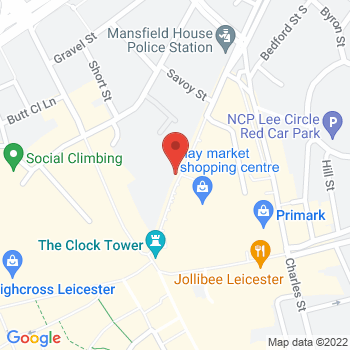 Argos Leicester Location on map