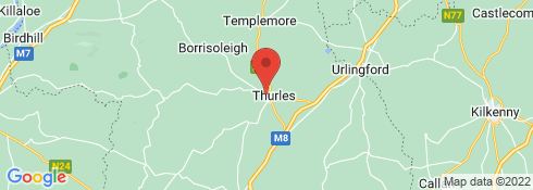 Map of Thurles Sarsfields HC grounds