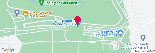 Map for Donington Park
