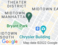 Google Map of 521 Fifth Avenue, New York NY