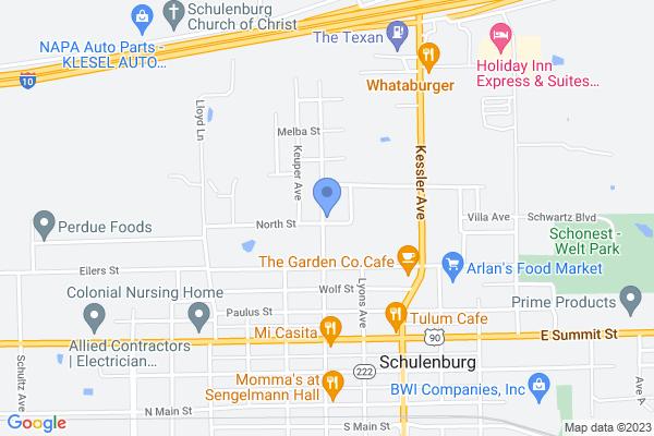 521 North St, Schulenburg, TX 78956, USA