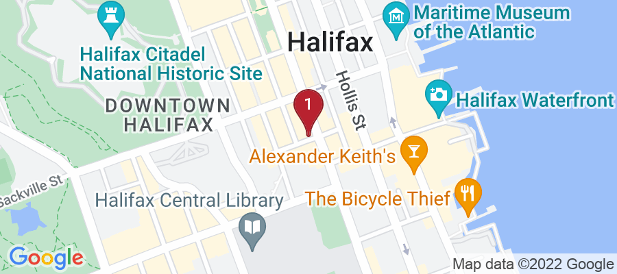 Google Map of 5215 Blowers St, Halifax, Canada
