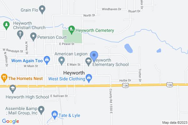 522 E Main St, Heyworth, IL 61745, USA