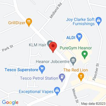Argos Heanor Location on map