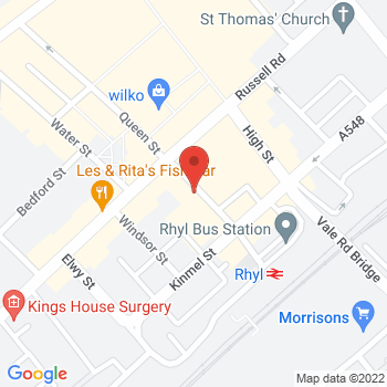 Argos Rhyl Location on map