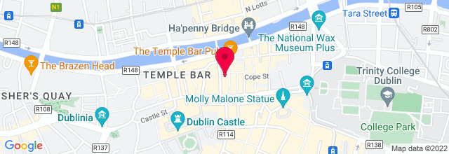 Map for Button Factory