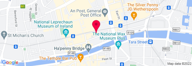 Map for The Academy Dublin
