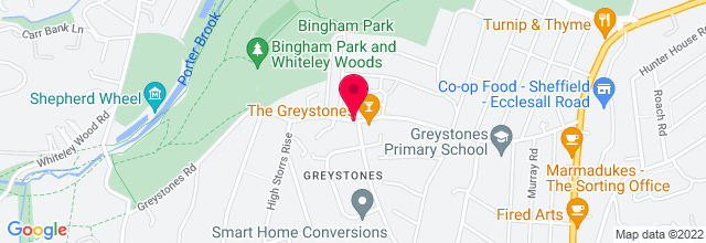 Map for The Greystones