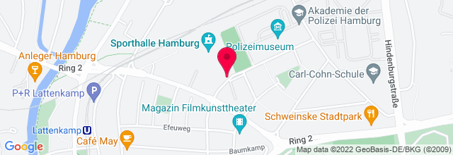 Map for Sporthalle Hamburg