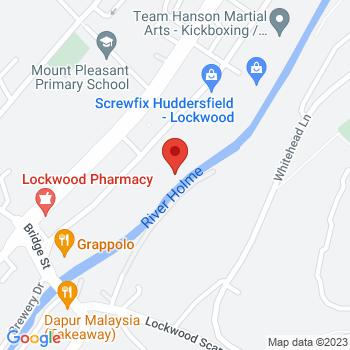 Huddersfield Gas Location on map