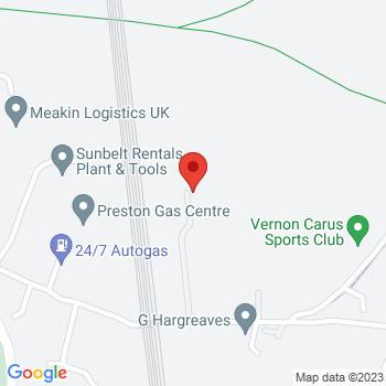 Preston Gas Centre Ltd Location on map